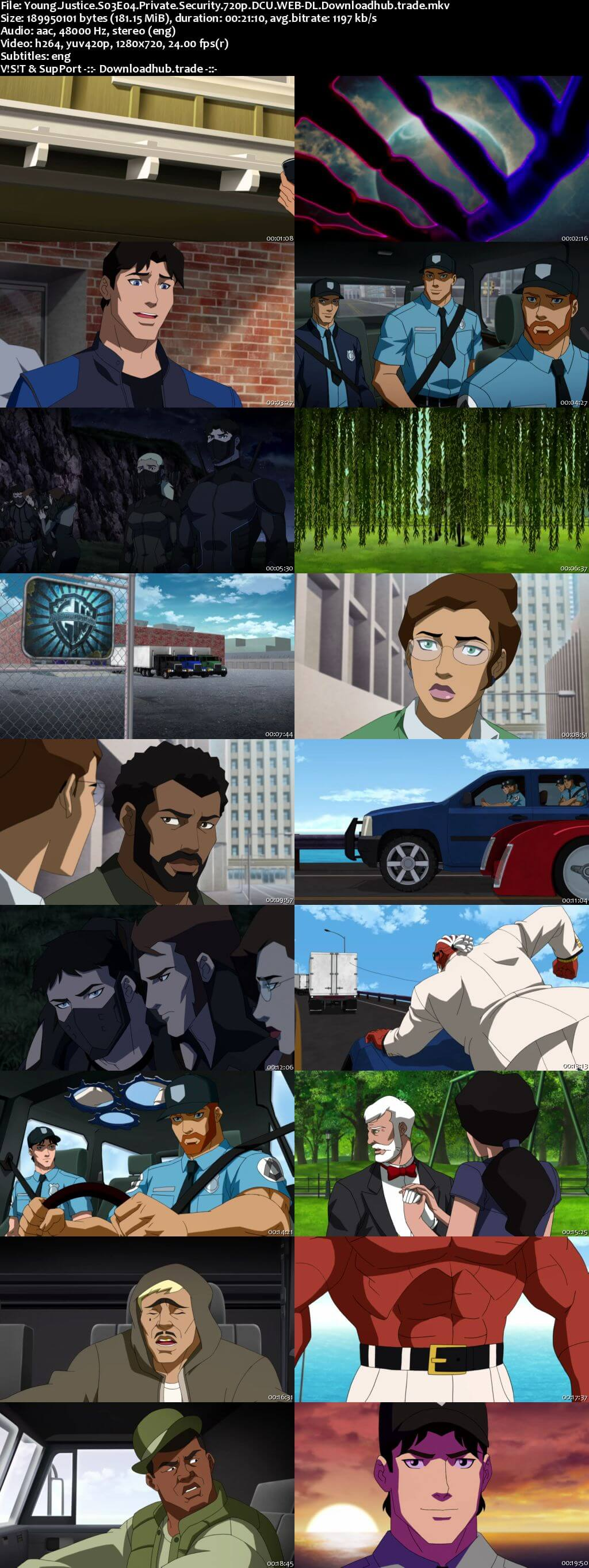 Young Justice S03E04 180MB DCU WEB-DL 720p ESubs