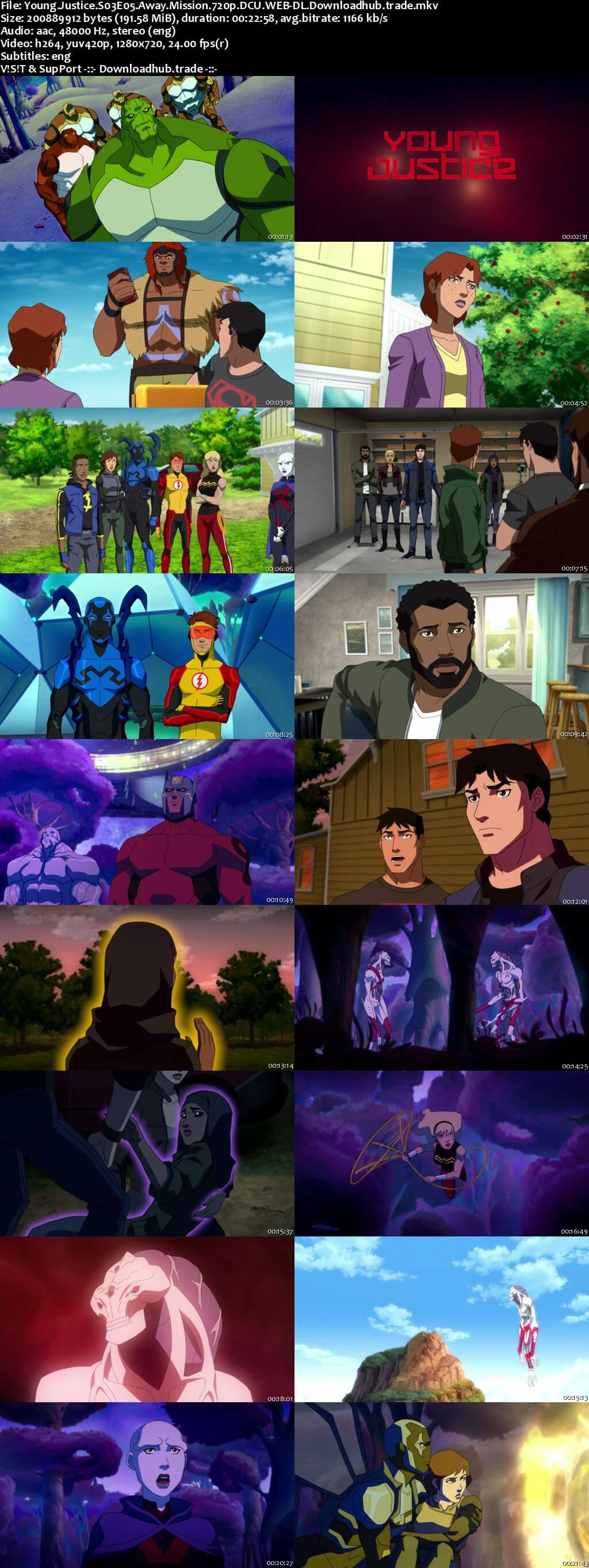 Young Justice S03E05 190MB DCU WEB-DL 720p ESubs