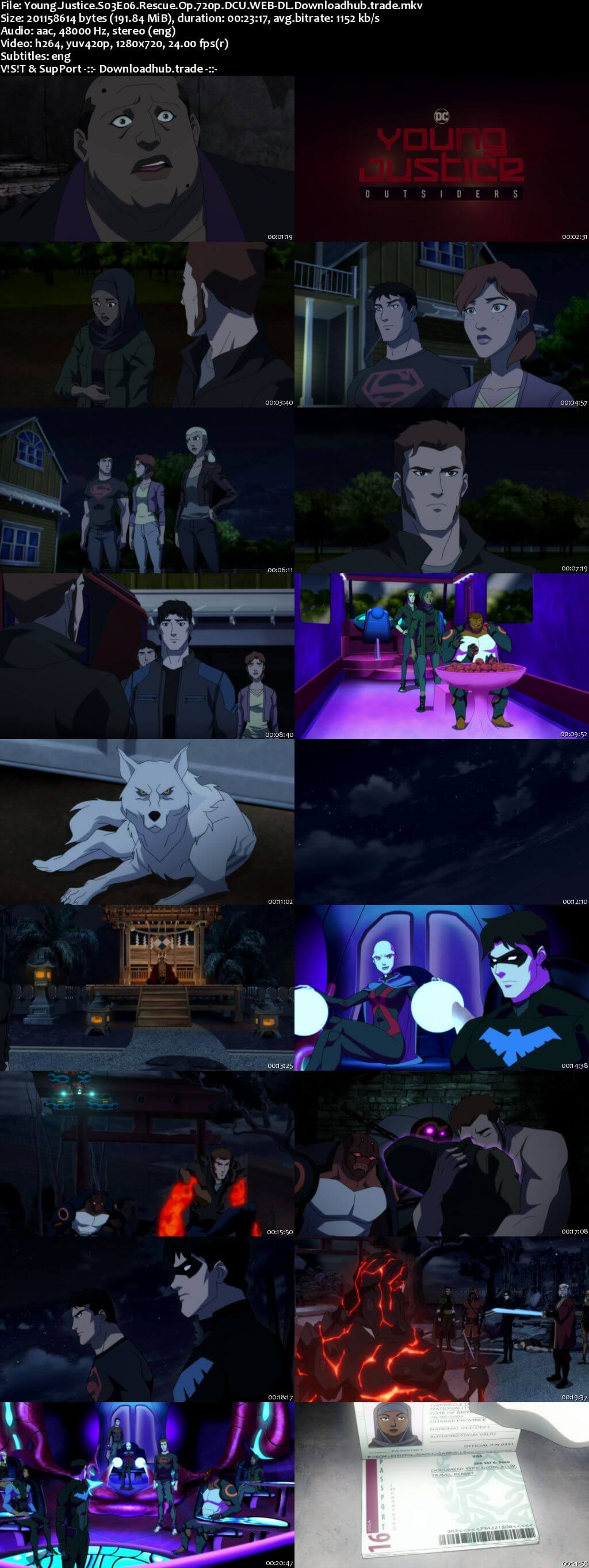 Young Justice S03E06 190MB DCU WEB-DL 720p ESubs
