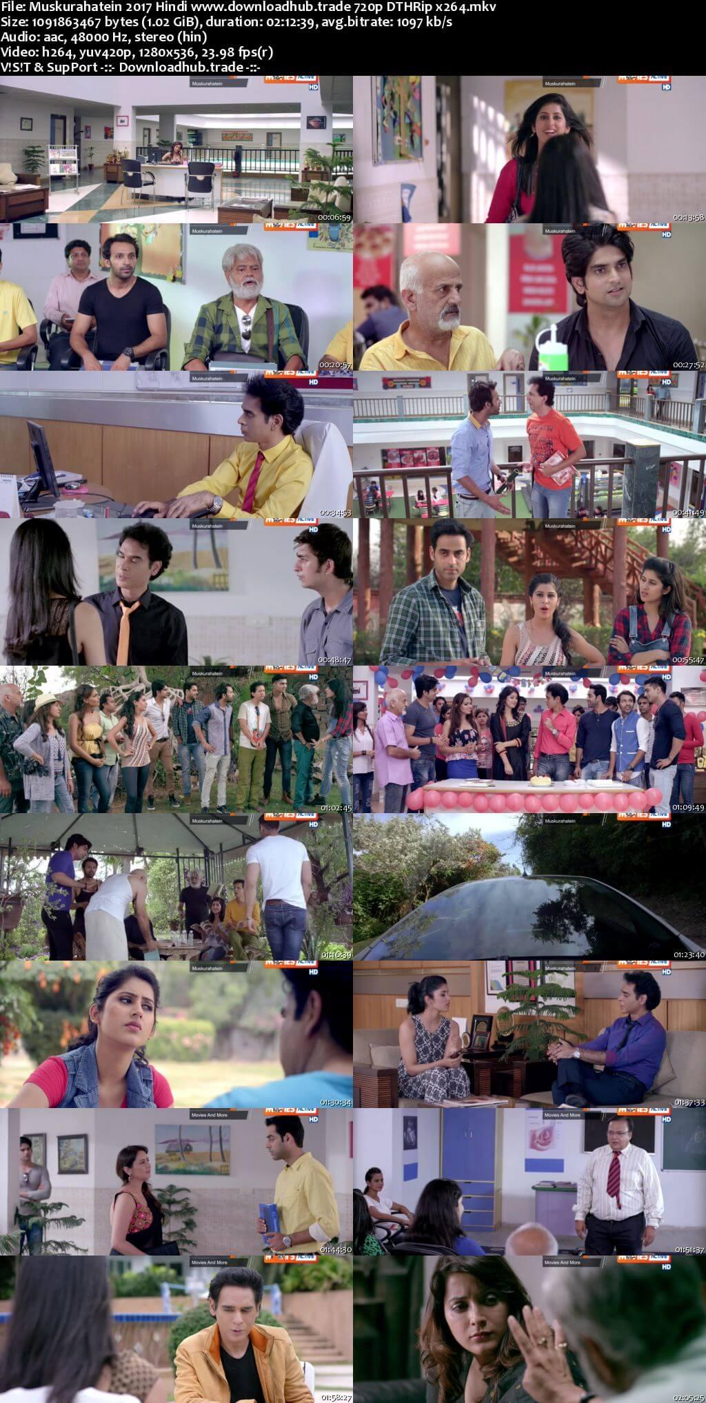 Muskurahatein 2017 Hindi 720p DTHRip x264