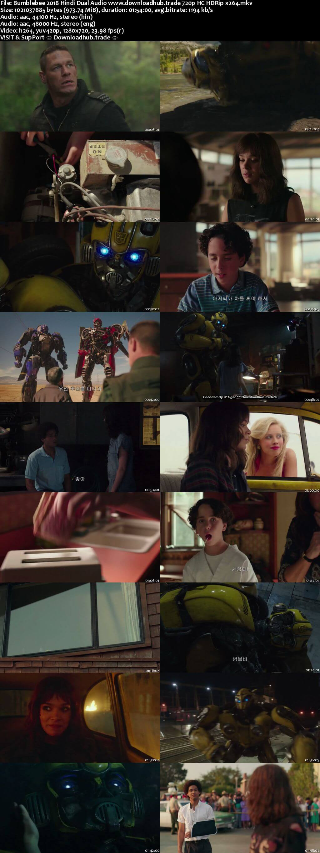Bumblebee 2018 Trailer Download hdrip 480p