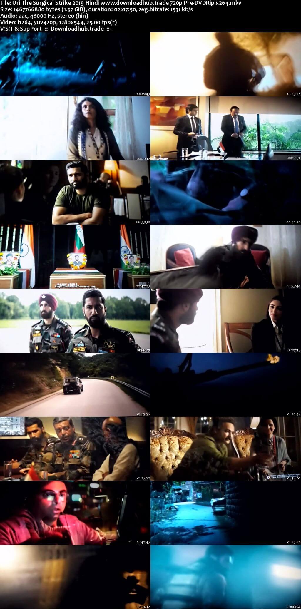 Uri The Surgical Strike 2019 Full Hindi Movie Download 720p Hd Atozhd