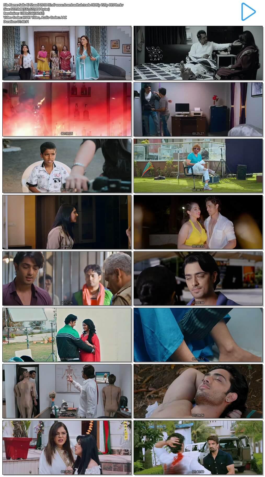 Sallu Ki Shaadi 2018 Hindi 500MB HDRip 720p HEVC