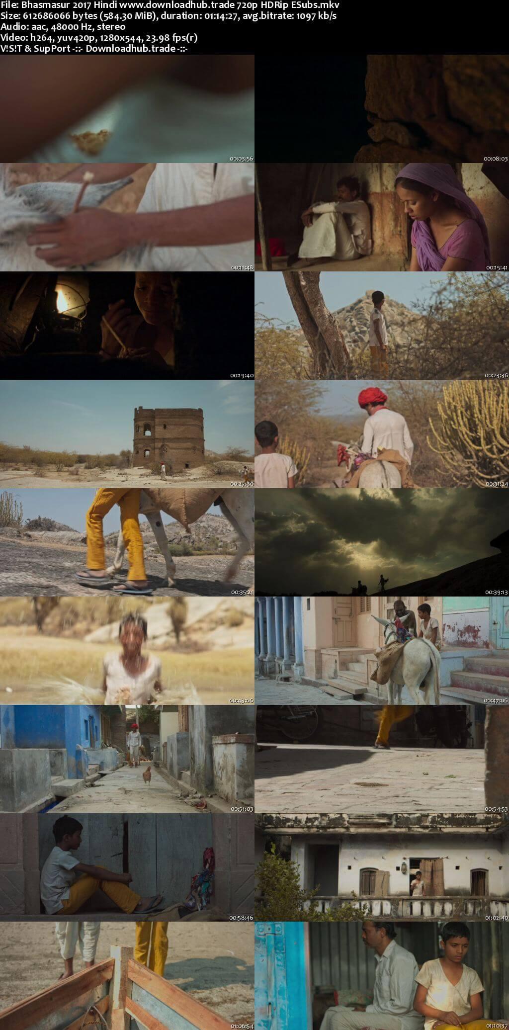 Bhasmasur 2017 Hindi 720p HDRip ESubs
