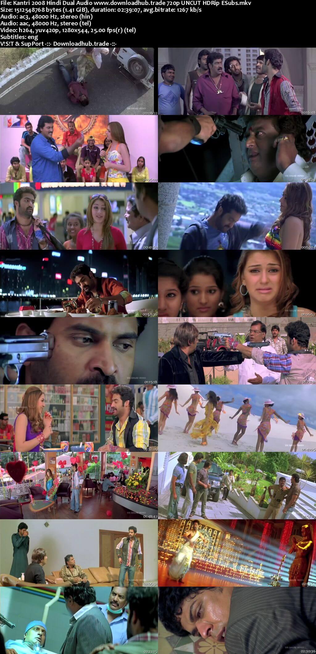 Kantri 2008 Hindi Dual Audio 720p UNCUT HDRip ESubs