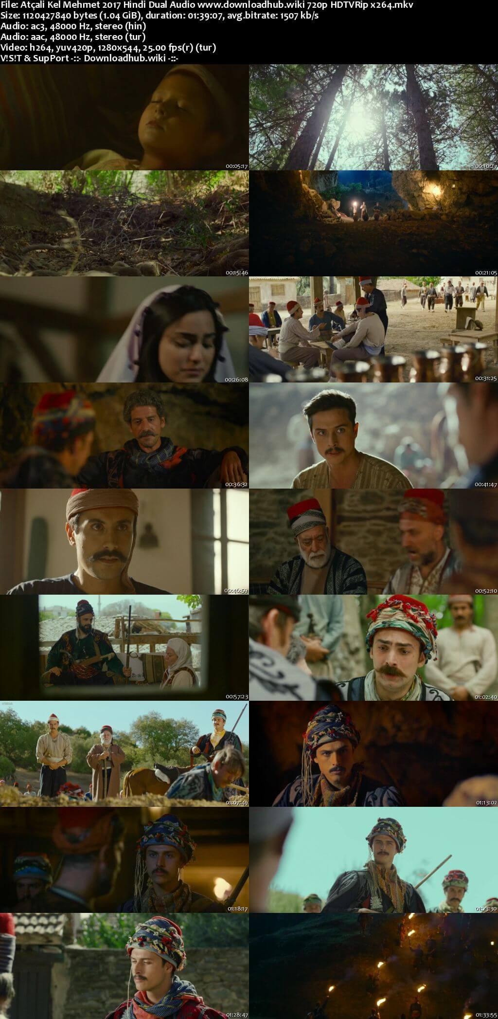 Atçali Kel Mehmet 2017 Hindi Dual Audio 720p HDTVRip x264