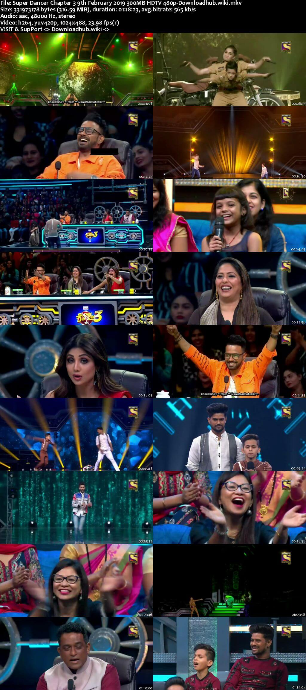 Super Dancer Chapter 3 09 February 2019 Episode 13 HDTV 480p