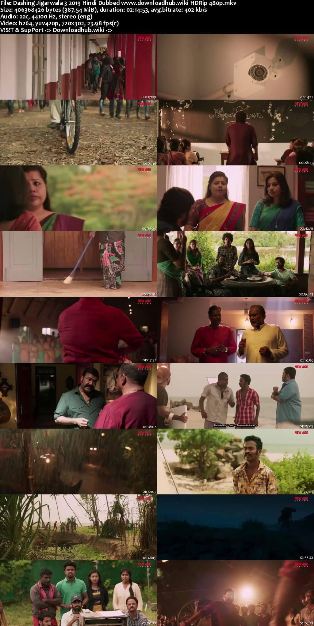 Dashing Jigarwala 3 2019 Hindi Dubbed 350MB HDRip 480p