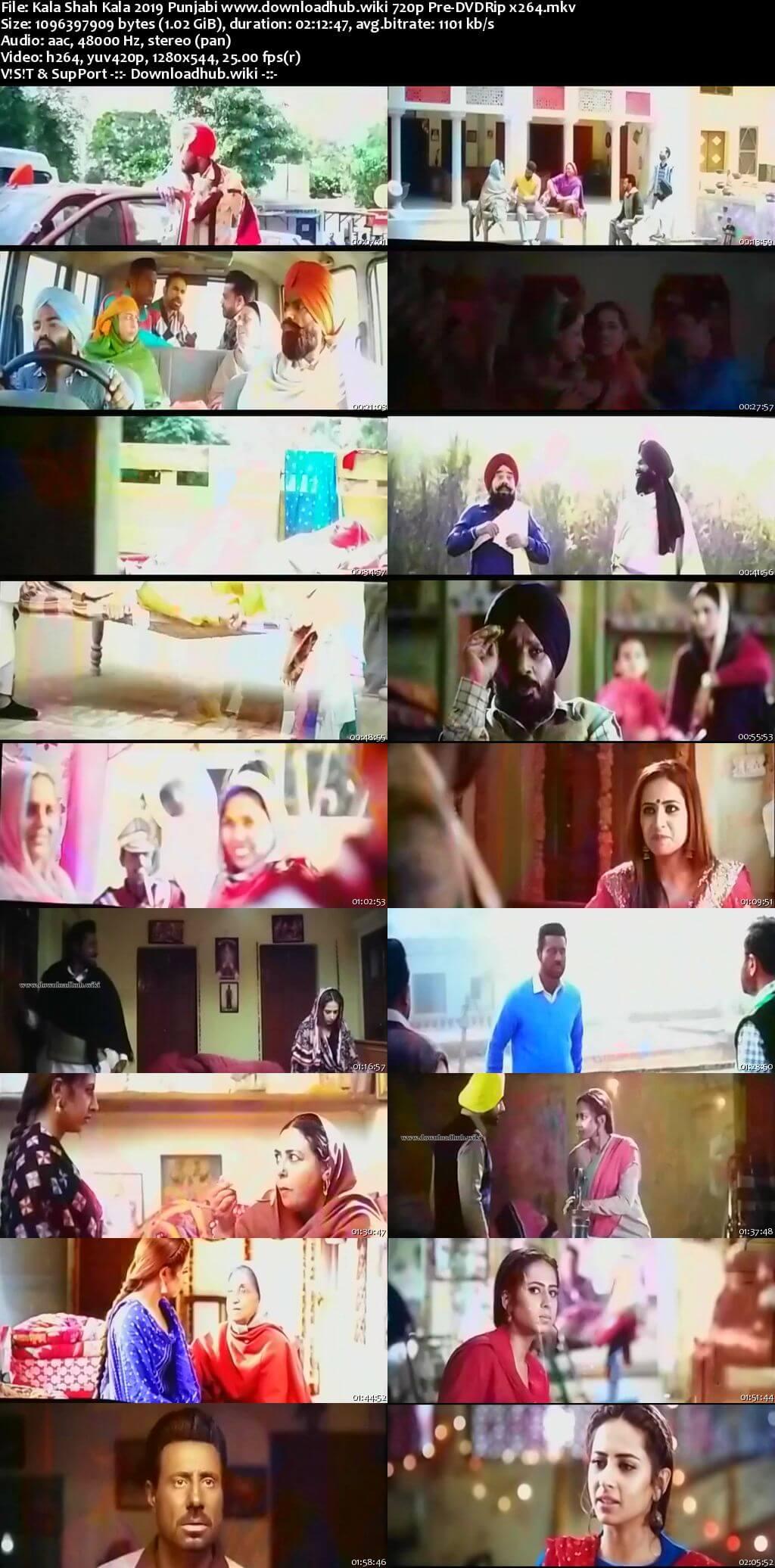 Kala Shah Kala 2019 Punjabi 720p Pre-DVDRip x264