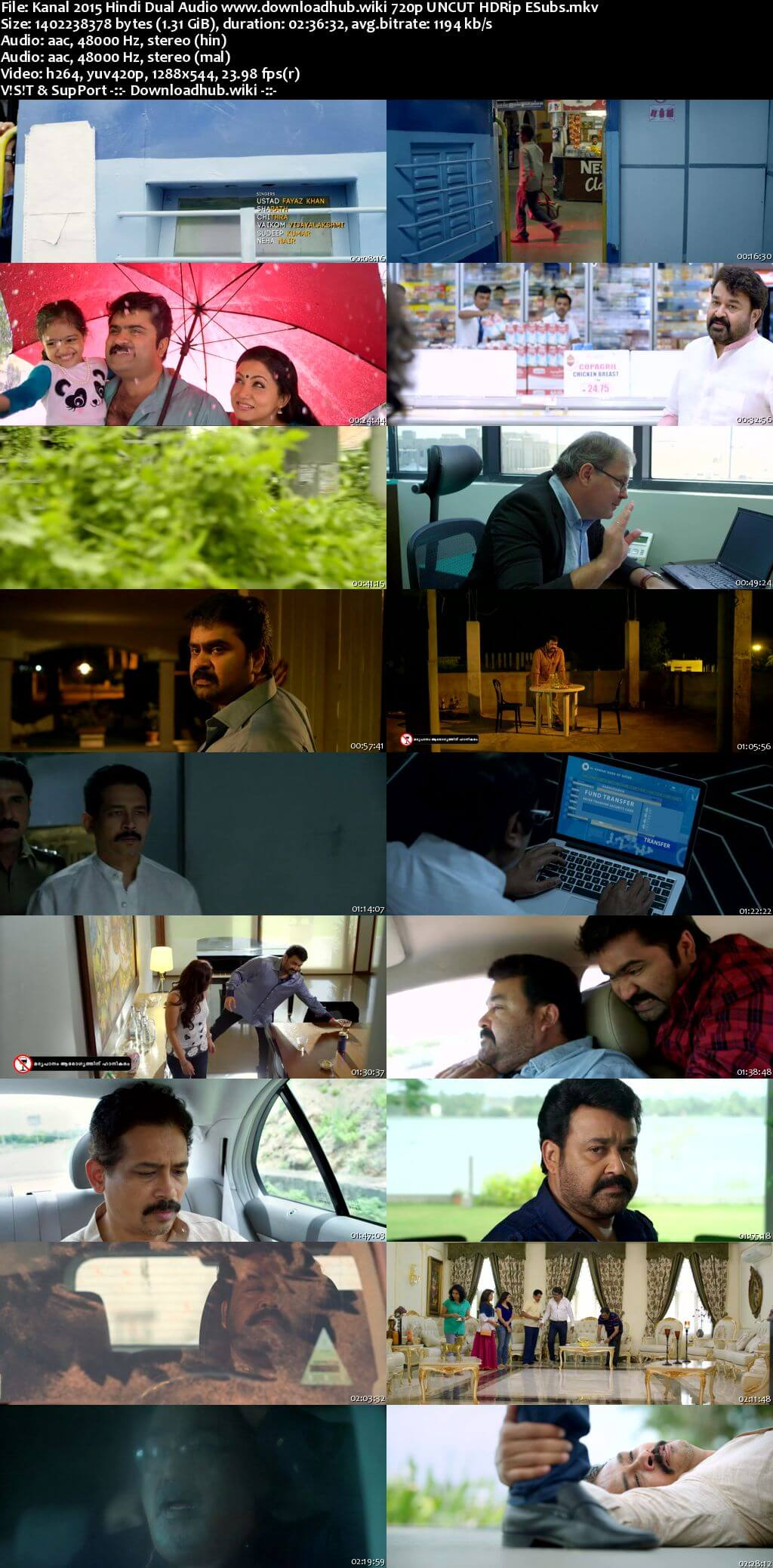 Kanal 2015 Hindi Dual Audio 720p UNCUT HDRip ESubs
