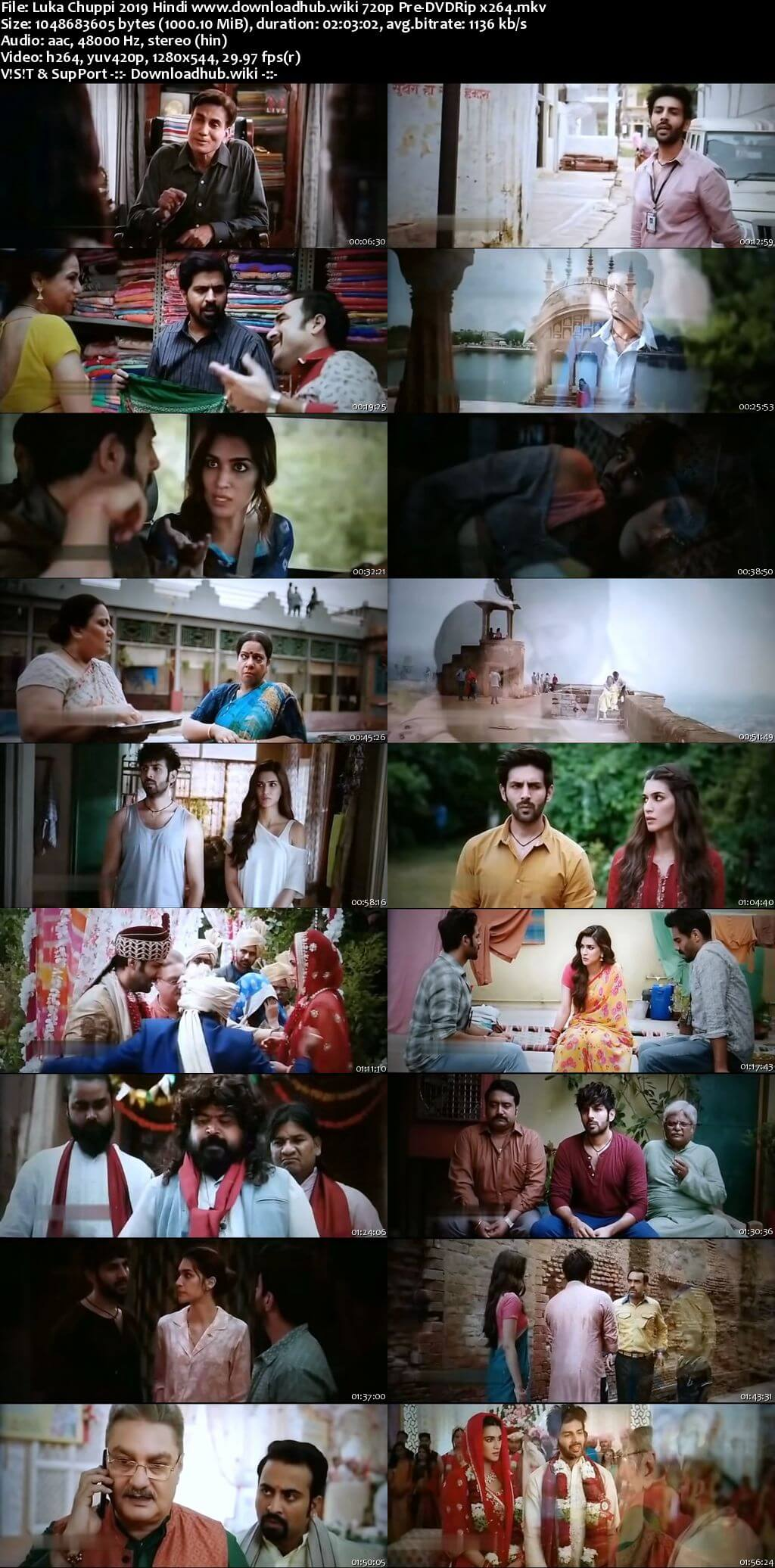 Luka Chuppi 2019 Hindi 720p Pre-DVDRip x264