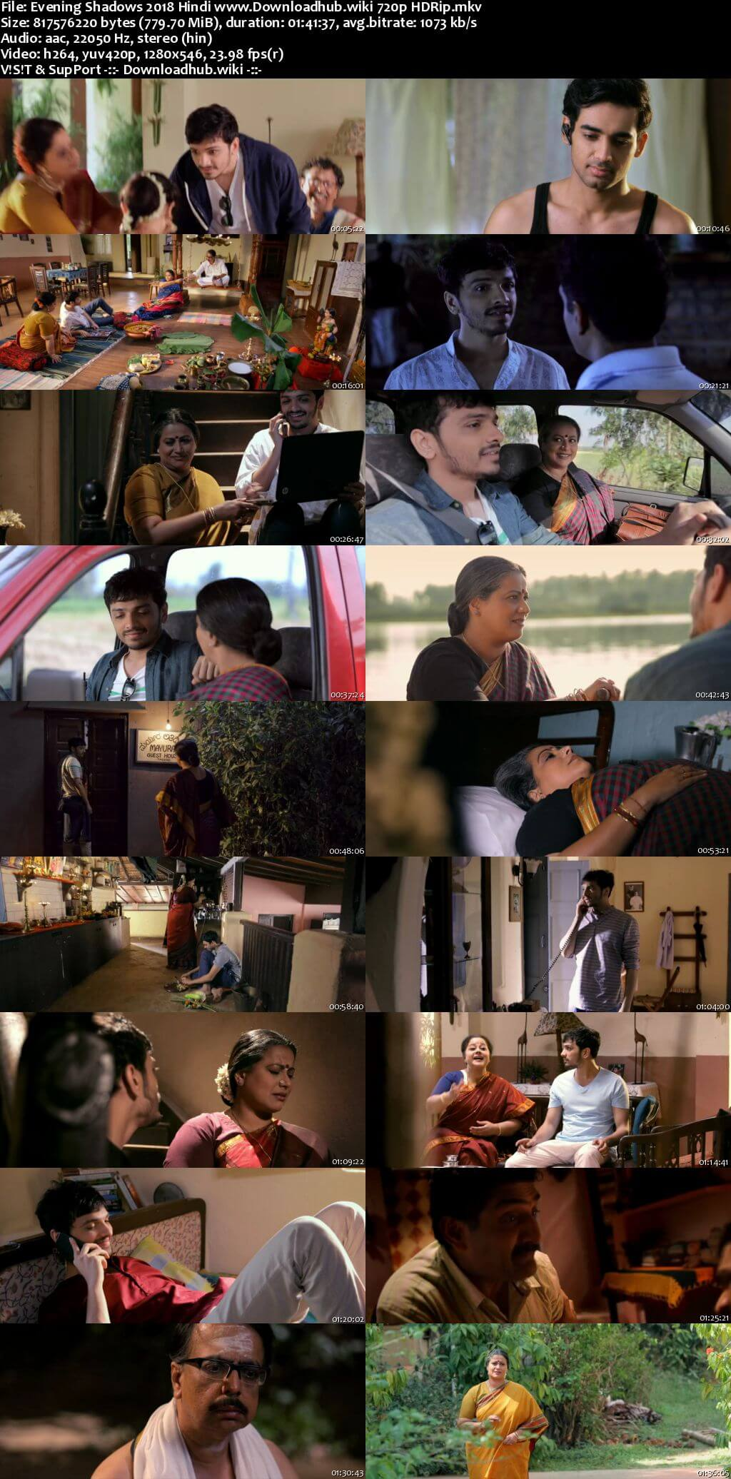 Evening Shadows 2018 Hindi 720p HDRip x264