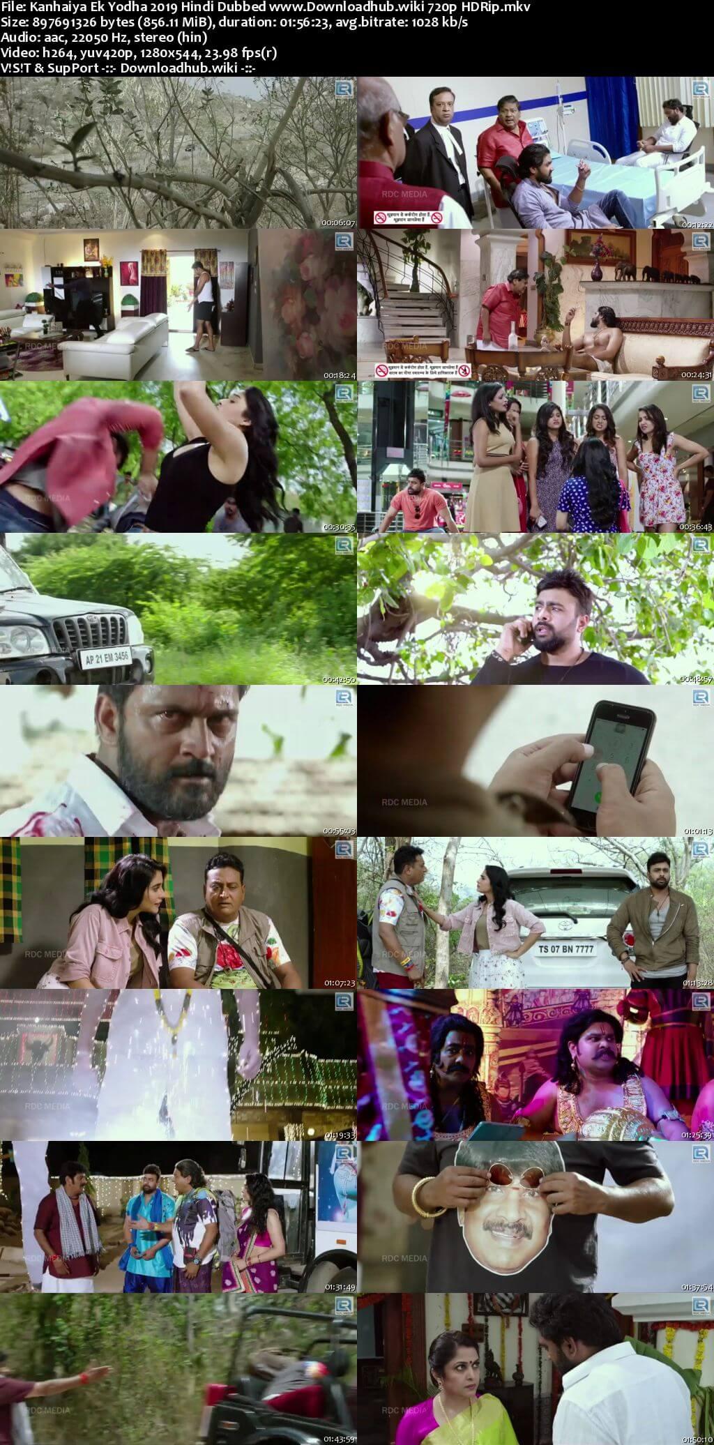 Kanhaiya Ek Yodha 2019 Hindi Dubbed 720p HDRip x264