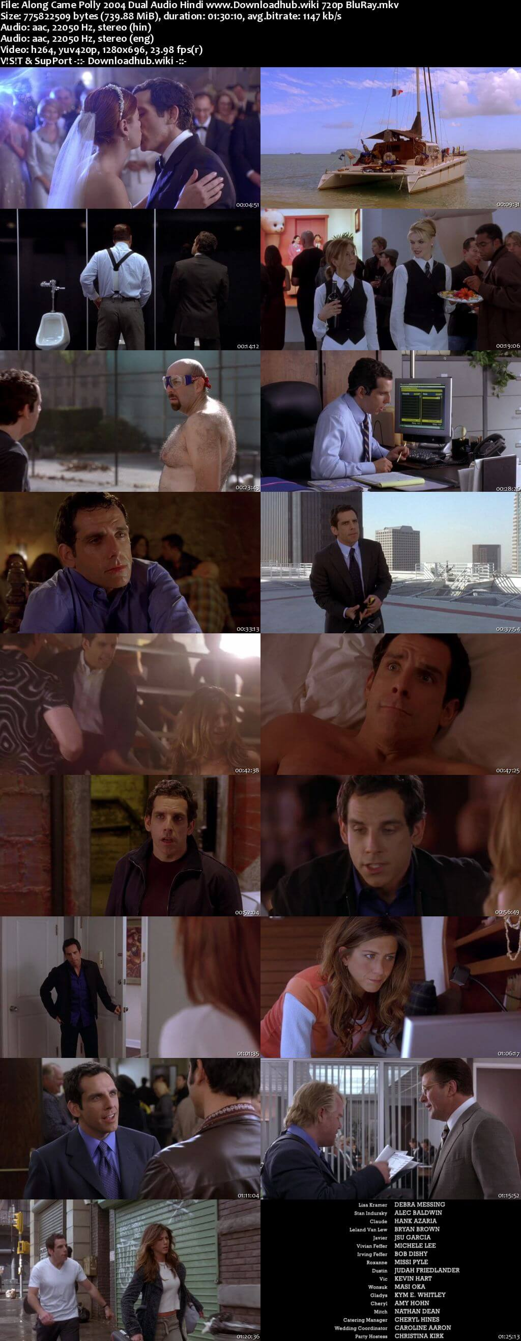 Along Came Polly 2004 Hindi Dual Audio 720p BluRay ESubs