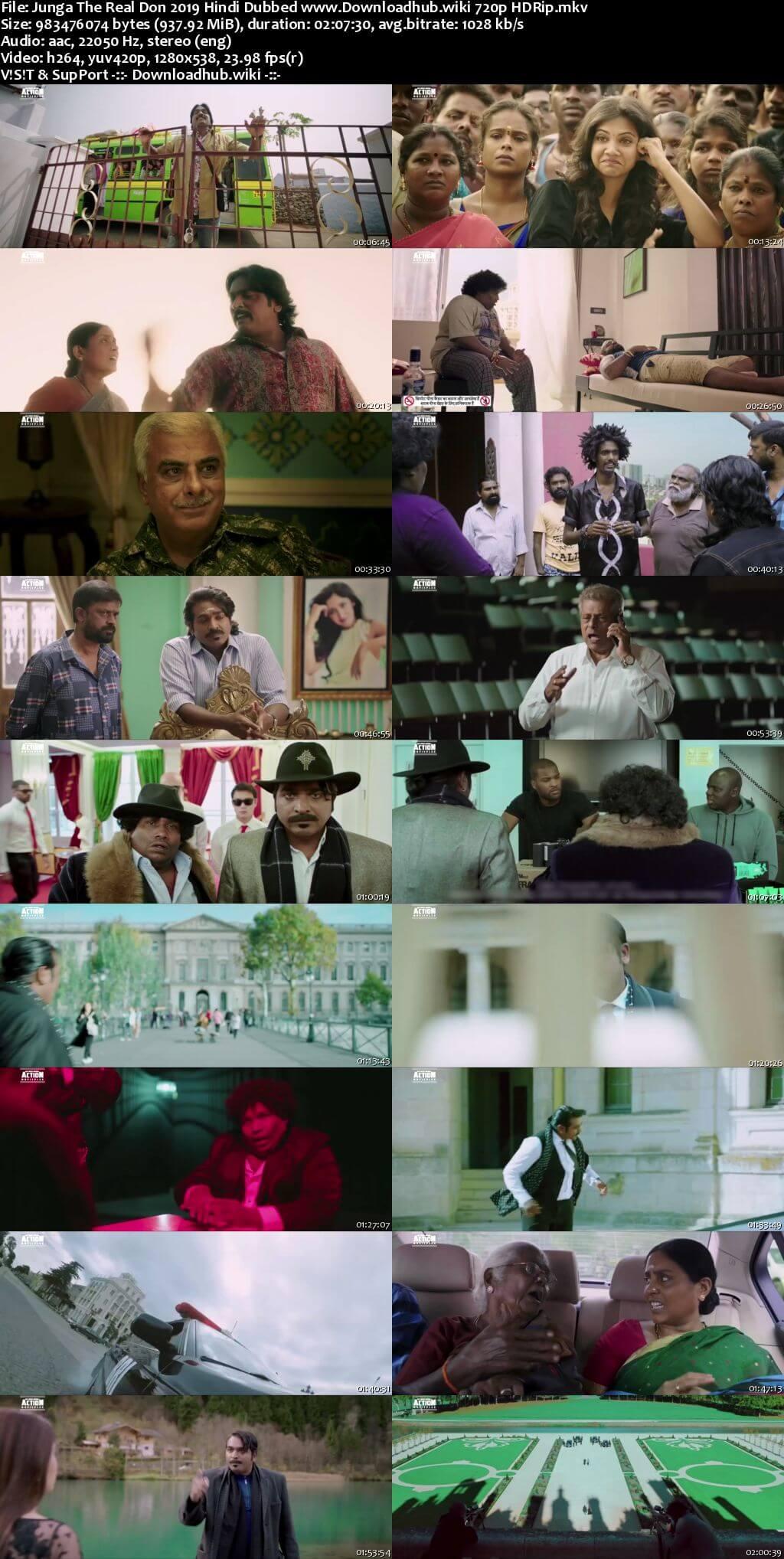 Junga The Real Don 2019 Hindi Dubbed 720p HDRip x264
