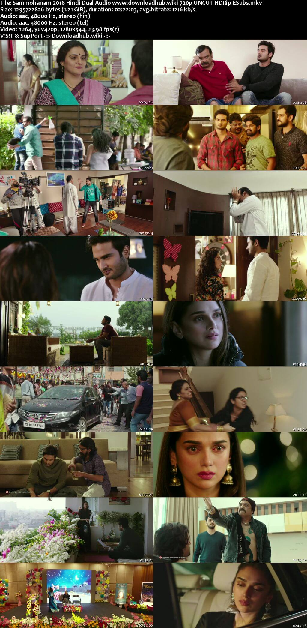 Sammohanam 2018 Hindi Dual Audio 720p UNCUT HDRip ESubs
