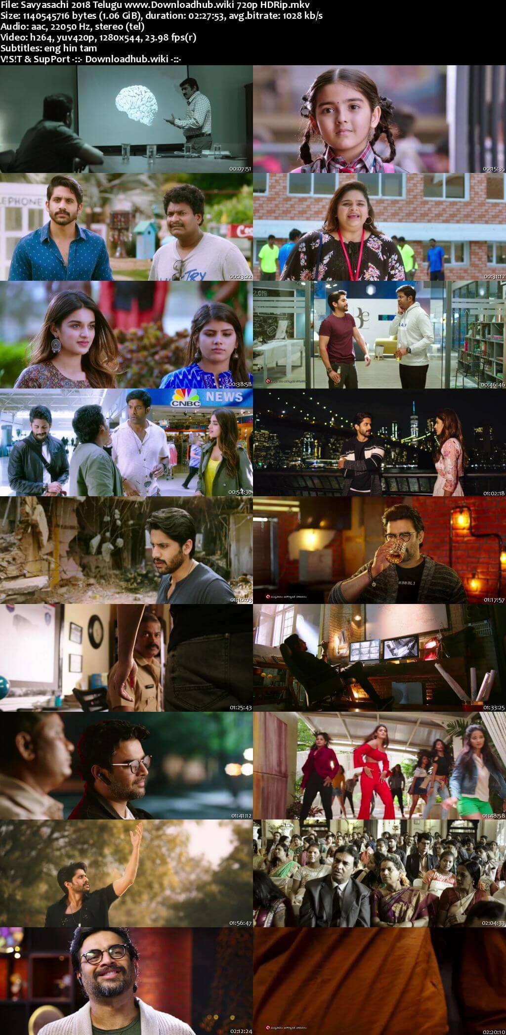 Savyasachi 2018 Telugu 720p HDRip MSubs