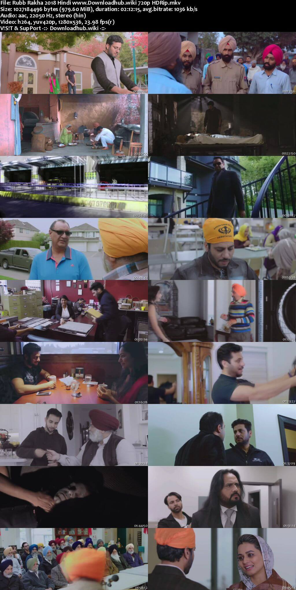 Rubb Rakha 2018 Hindi 720p HDRip x264