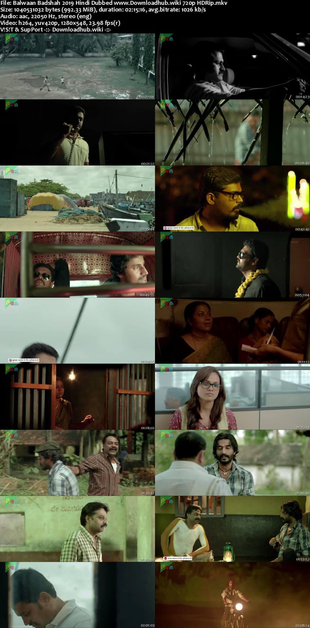Balwaan Badshah 2019 Hindi Dubbed 720p HDRip x264
