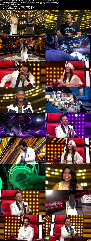 The Voice 17 March 2019 Episode 13 HDTV 480p