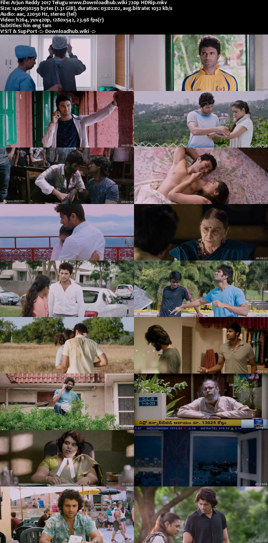 Arjun Reddy 2017 Telugu 720p HDRip MSubs