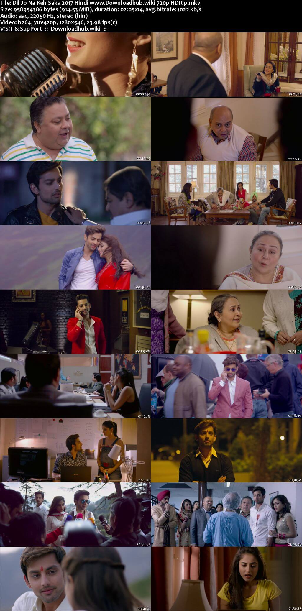 Dil Jo Na Keh Saka 2017 Hindi 720p HDRip x264